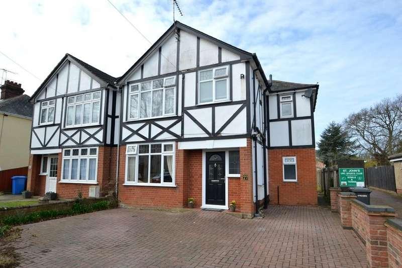 3 Bedrooms Semi Detached House for sale in Westbury Road, Ipswich, IP4 4RH