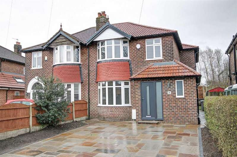 4 Bedrooms Semi Detached House for sale in Park Close, Timperley, Cheshire