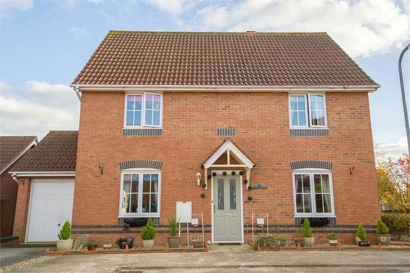 4 Bedrooms Detached House for sale in Bluebell Close, Oakley Vale, Northamptonshire