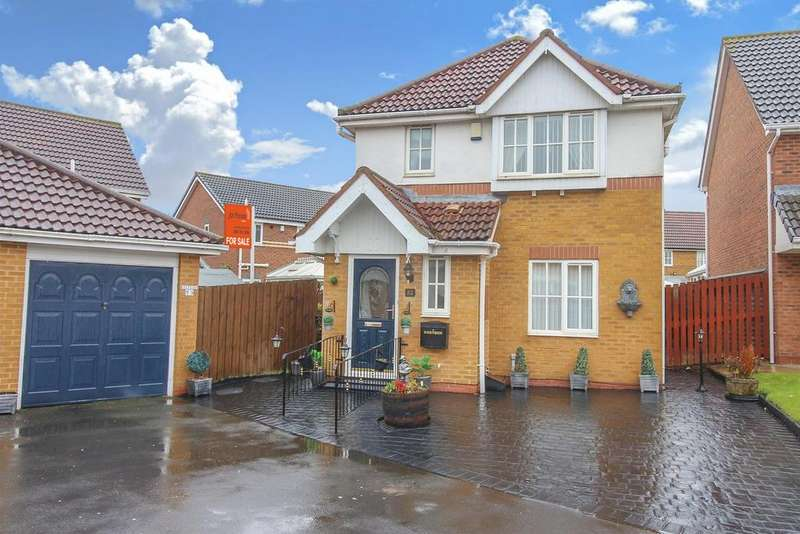 3 Bedrooms Detached House for sale in Murrayfields, West Allotment, Newcastle Upon Tyne