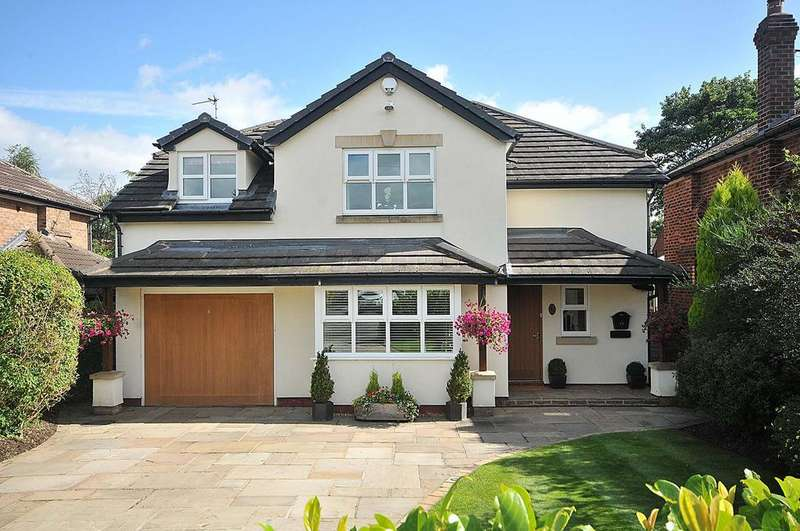 4 Bedrooms Detached House for sale in 15 Church Road, Wilmslow