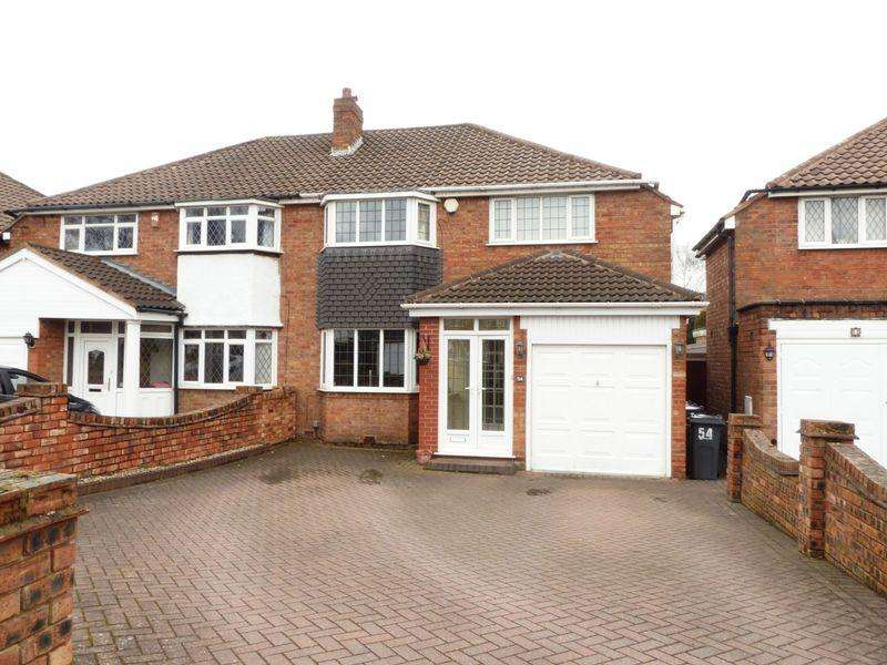 3 Bedrooms Semi Detached House for sale in Bakers Lane, Streetly