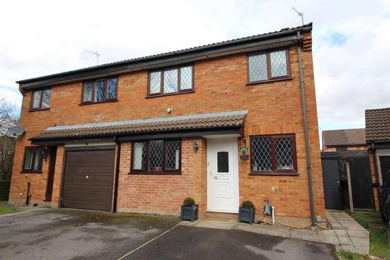 3 Bedrooms Semi Detached House for sale in Slimbridge Close, Yate, Bristol, BS37 8XZ