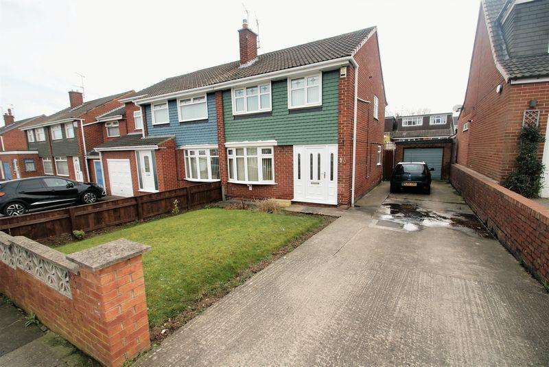 3 Bedrooms Semi Detached House for sale in Guildford Road, Middlesbrough