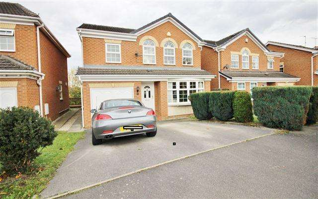 4 Bedrooms Detached House for sale in John Hibbard Avenue, Woodhouse, SHEFFIELD, S13 9UT