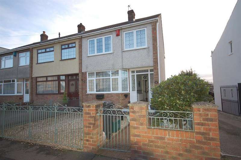 3 Bedrooms End Of Terrace House for sale in Kingsway Avenue, St. George, Bristol, BS5 7PY
