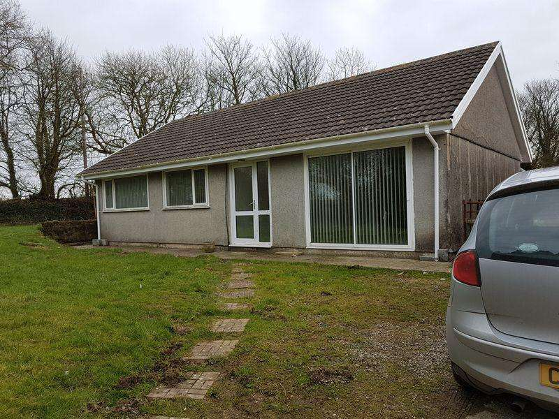 3 Bedrooms Detached Bungalow for rent in Velindre Crymych,