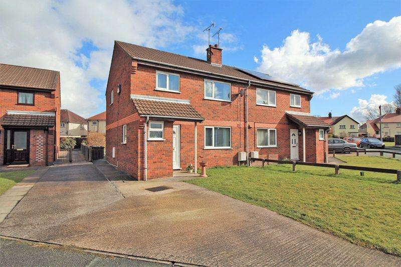 3 Bedrooms Semi Detached House for sale in Church View, Chirk