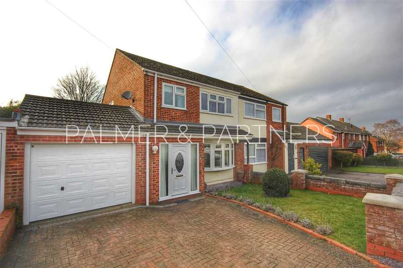3 Bedrooms Semi Detached House for sale in Kings Road, Glemsford