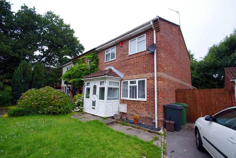 3 Bedrooms Semi Detached House for rent in Oakmeadow Drive, St Mellons CF3