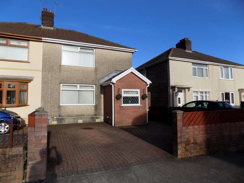 3 Bedrooms Semi Detached House for sale in Underwood Road, Cadoxton, Neath, Neath Port Talbot. SA10 8BY
