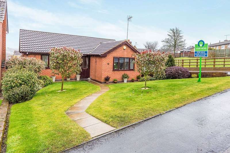 2 Bedrooms Detached Bungalow for sale in Gresley Wood Road, Church Gresley, Swadlincote, DE11