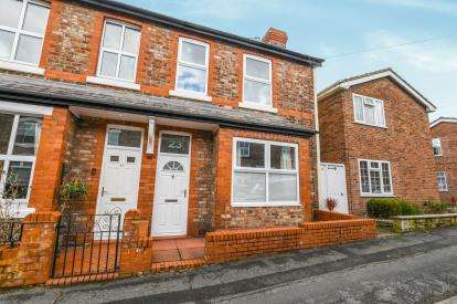 3 Bedrooms End Of Terrace House for sale in Brackley Street, Stockton Heath, Warrington, Cheshire