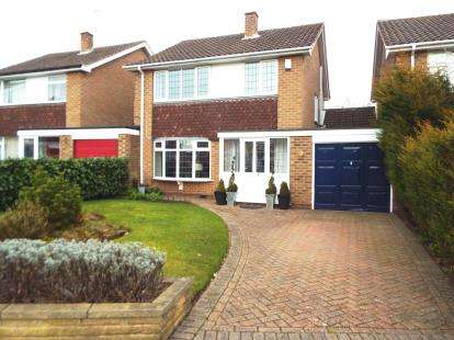 3 Bedrooms Detached House for sale in Brookside Avenue, Wollaton, Nottingham, Nottinghamshire