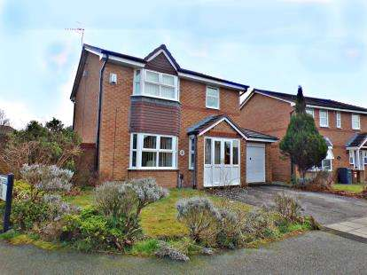 3 Bedrooms Detached House for sale in Flatt Lane, Oxton, Wirral, CH43