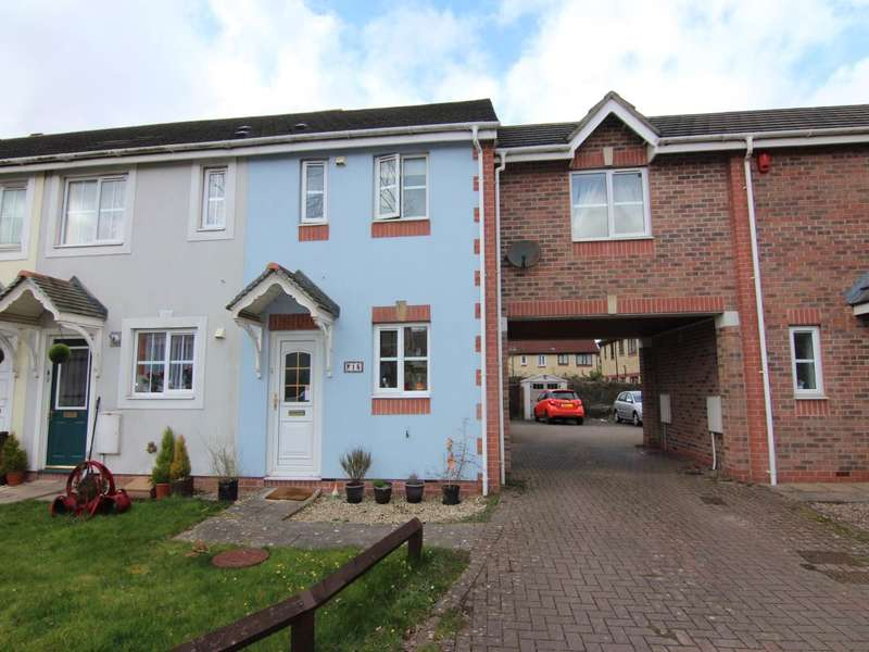 2 Bedrooms House for rent in Charlock Rd, Locking Castle, Weston-super-Mare