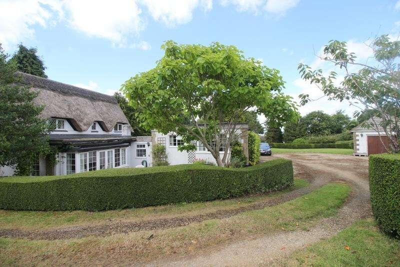 4 Bedrooms Detached House for sale in Liddington Cottage, Badbury, Near Swindon