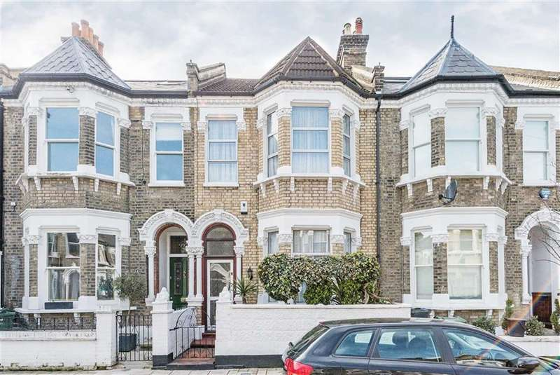 4 Bedrooms Terraced House for sale in Leander Road, Brixton, London, SW2