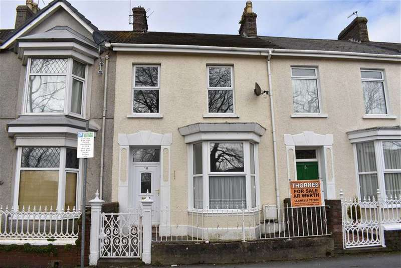 4 Bedrooms Terraced House for sale in Coleshill Terrace, Llanelli