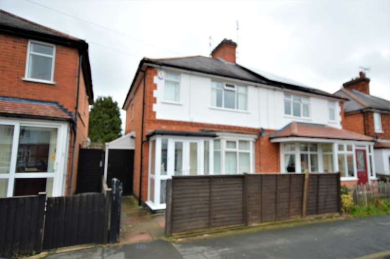 2 Bedrooms Semi Detached House for sale in Richmond Drive, Glen Parva, Leicester, LE2 9TJ