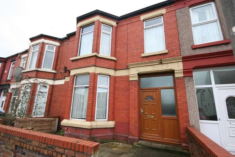 4 Bedrooms Terraced House for sale in Percy Road, Wallasey, CH44 7DY