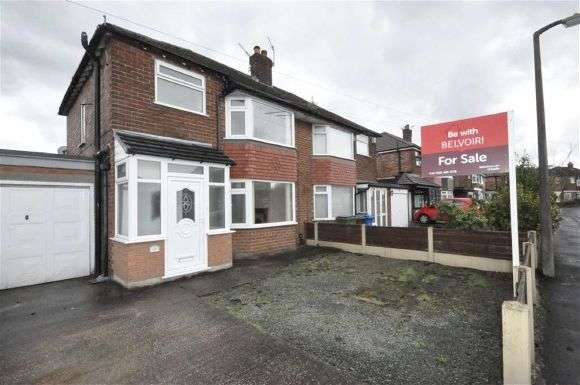 3 Bedrooms Semi Detached House for sale in Woking Road, Cheadle Hulme, Cheadle