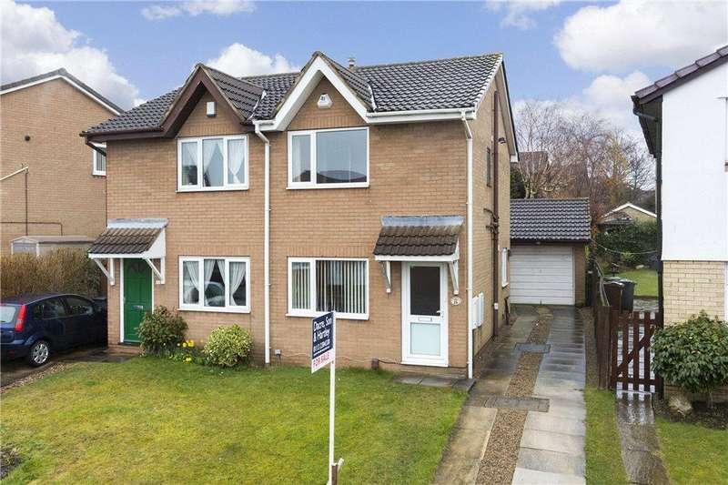 2 Bedrooms Semi Detached House for sale in Haven Gardens, Leeds, West Yorkshire