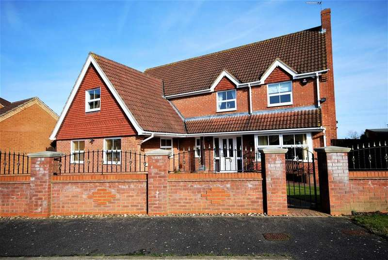 5 Bedrooms Detached House for sale in Braybrooks Way, Moulton Chapel, Spalding