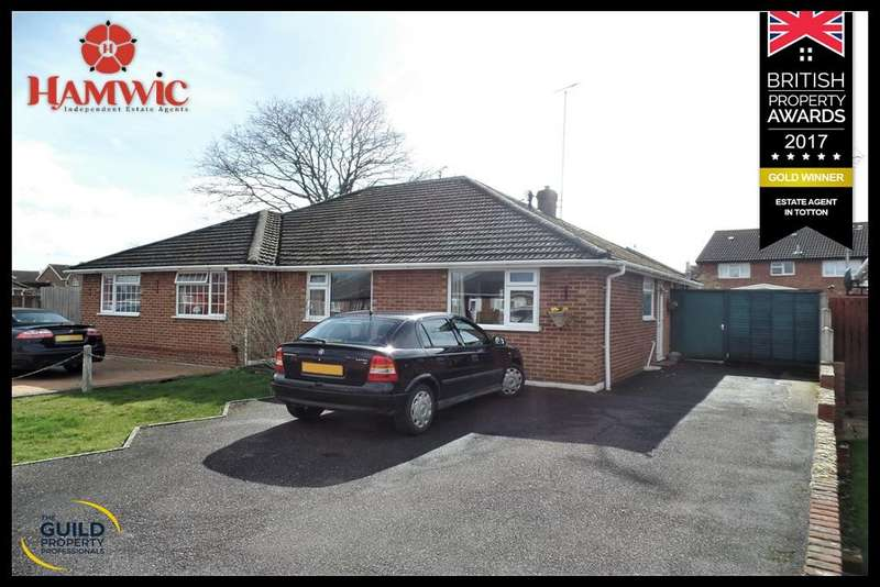 3 Bedrooms Semi Detached Bungalow for sale in Barnsfield Crescent, Totton, Southampton SO40