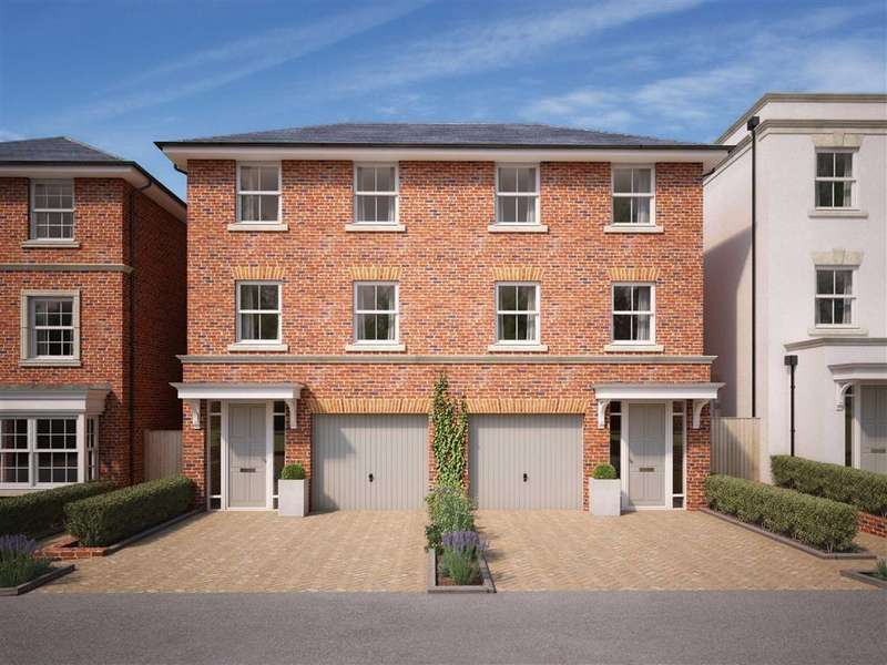 4 Bedrooms Semi Detached House for sale in Brownhill Road, Chandlers Ford, Hampshire