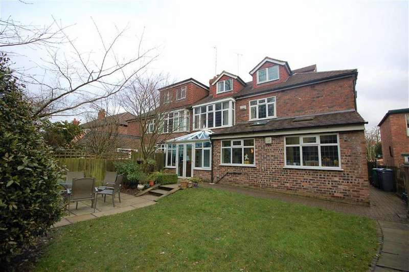 7 Bedrooms Semi Detached House for sale in Parrs Wood Road, Didsbury, Manchester, M20