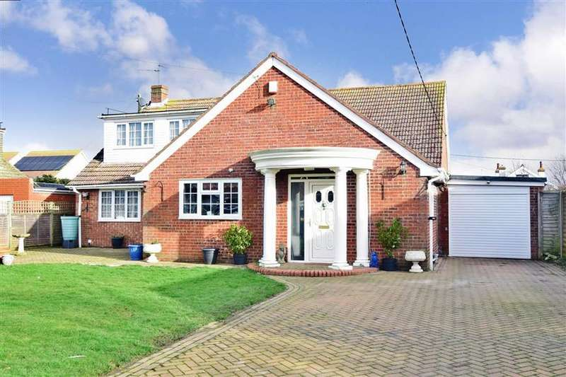 4 Bedrooms Detached Bungalow for sale in Dunstall Close, St Marys Bay, Romney Marsh, Kent
