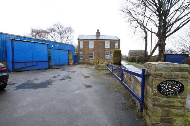 4 Bedrooms Detached House for sale in Boundary Cottage, Whitehall Road, Drighlington