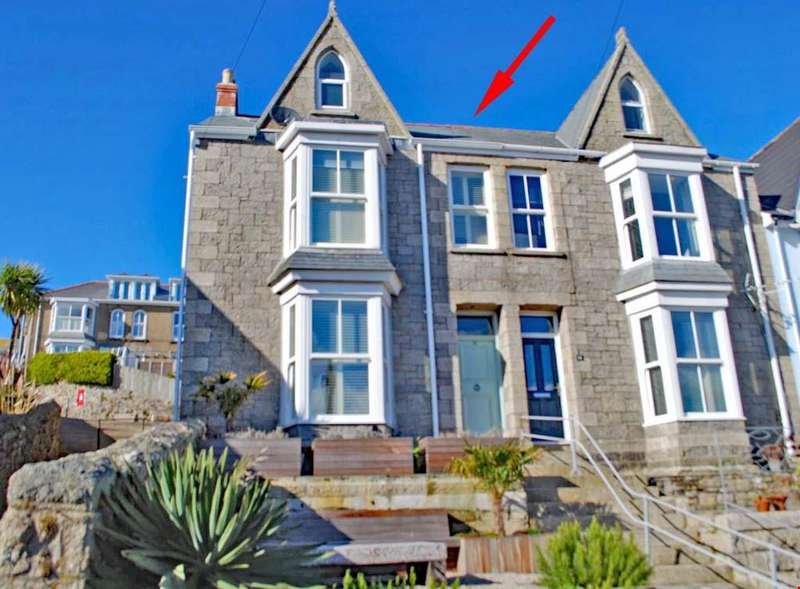 5 Bedrooms Semi Detached House for sale in St Ives Town Centre, West Cornwall, TR26