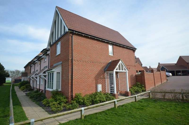 2 Bedrooms End Of Terrace House for sale in Hutley Close, Witham, CM8 1FZ
