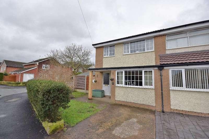 3 Bedrooms Semi Detached House for sale in Mallard Crescent, Poynton