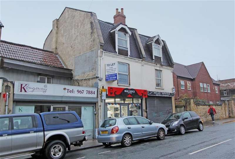 2 Bedrooms Maisonette Flat for sale in Two Mile Hill Road, Kingswood, Bristol