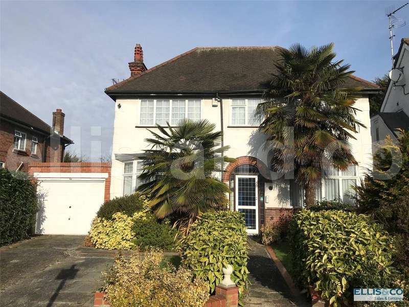 4 Bedrooms Detached House for sale in Woodcroft Avenue, Mill Hill, London, NW7