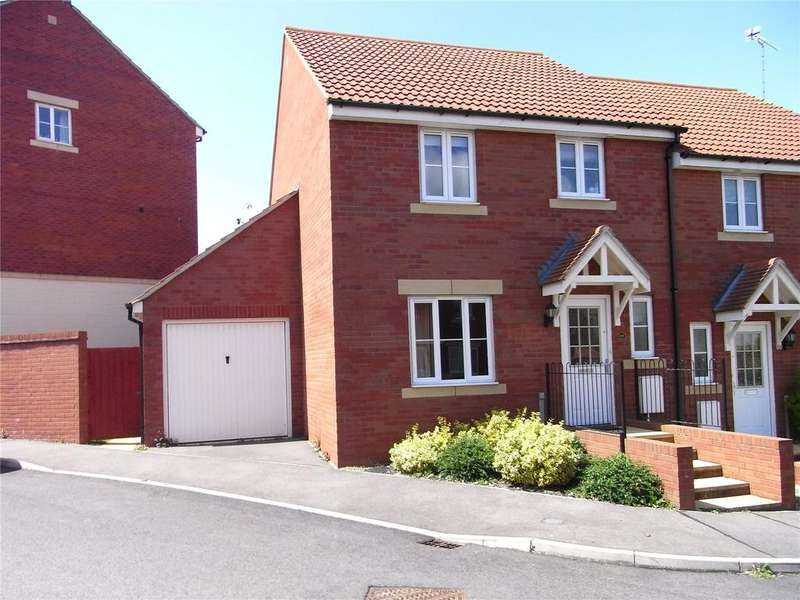 3 Bedrooms Semi Detached House for rent in Merevale Way, Yeovil, Somerset, BA21