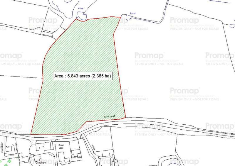 Land Commercial for sale in Dark Lane, Wythall