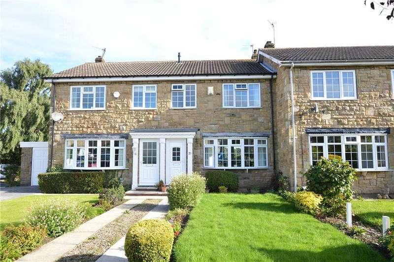 3 Bedrooms Terraced House for sale in Deer Park Court, Monk Fryston, Leeds