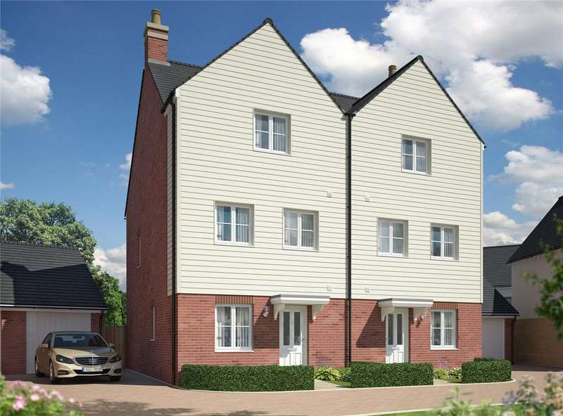 4 Bedrooms Semi Detached House for sale in Imperial Park, Sutton Road, Maidstone, Kent, ME15