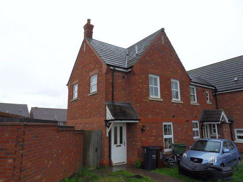 3 Bedrooms Terraced House for rent in Flatford Close, Corby