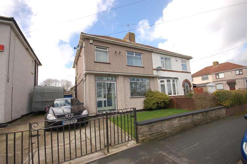3 Bedrooms Semi Detached House for sale in Crown Road, Bristol, BS15 1PR