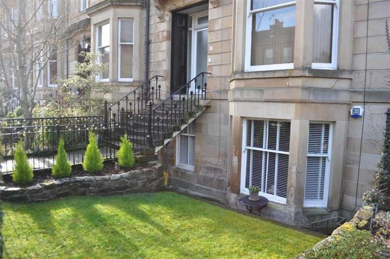 2 Bedrooms Flat for sale in Garden Flat, 41 Queen Square, Strathbungo, G41 2BD