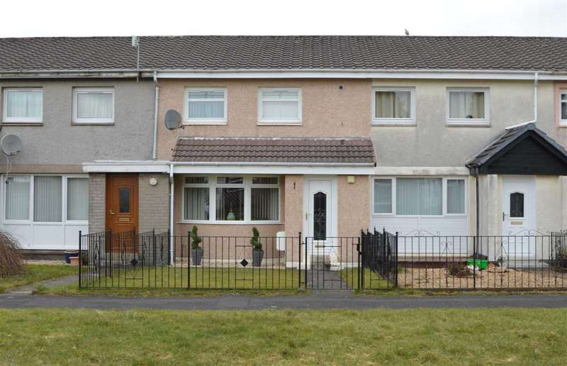 2 Bedrooms Terraced House for sale in Greenbank, Blantyre