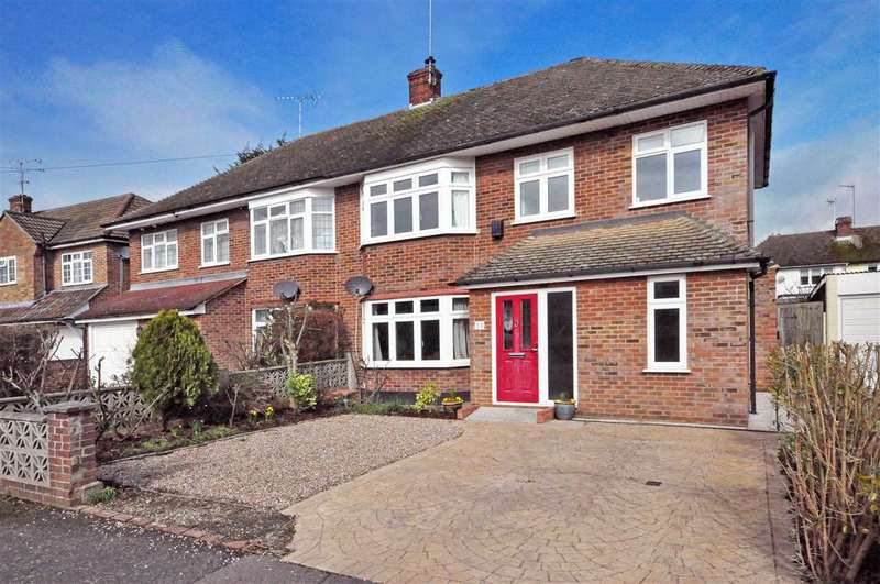 4 Bedrooms Semi Detached House for sale in Chelmer Drive, Hutton