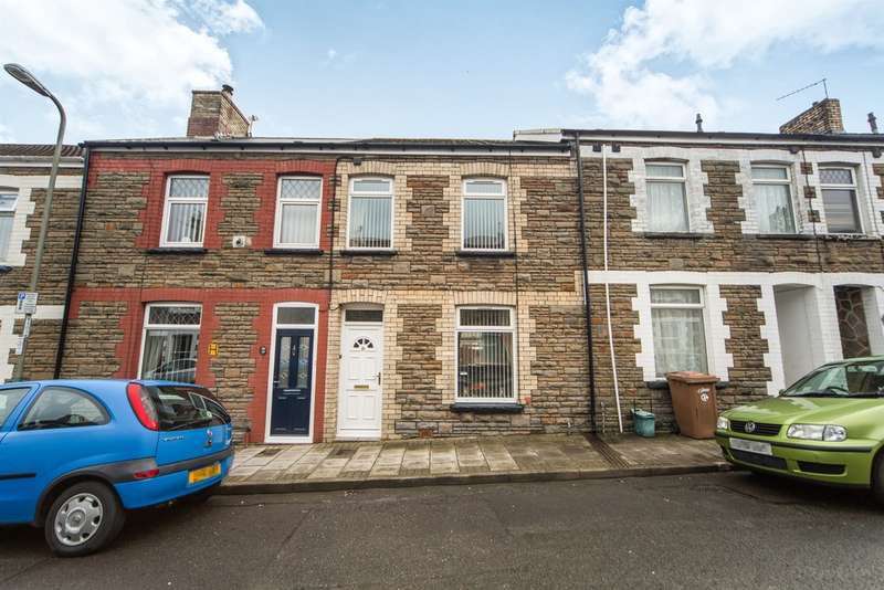 2 Bedrooms Terraced House for sale in Goodrich Street, Caerphilly