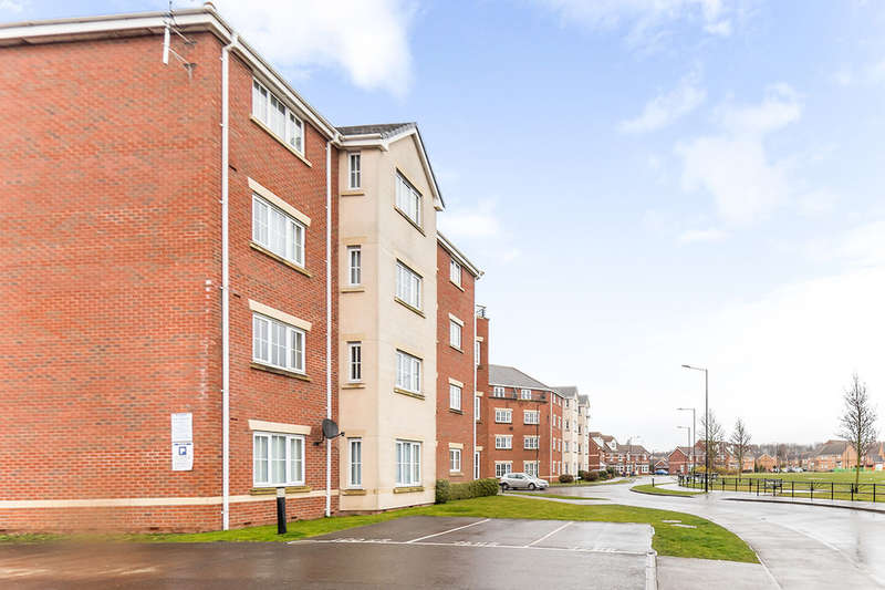 2 Bedrooms Flat for rent in Wakelam Drive, Armthorpe, Doncaster, DN3