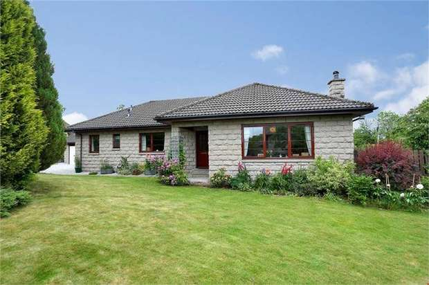 4 Bedrooms Detached Bungalow for sale in Battock Terrace, Torphins, Banchory, Aberdeenshire
